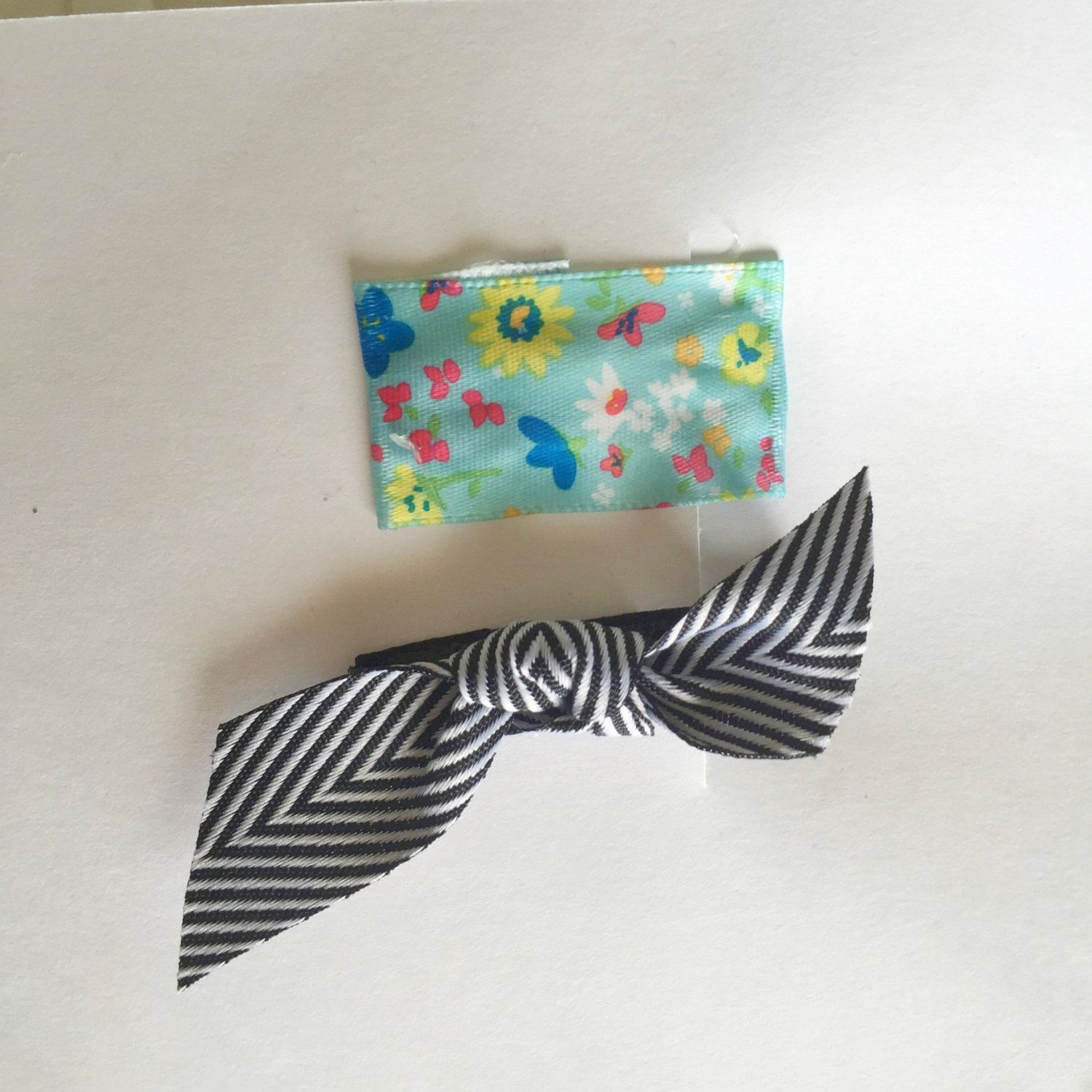 Set of 2 clips- 1 alligator and 1 snap clip by doodlebugdesignsco on Etsy