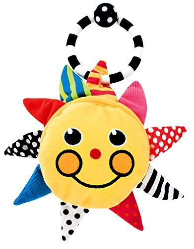 Baby Mirror Toys - Sassy Sunshine Mirror -- Click image for more details.