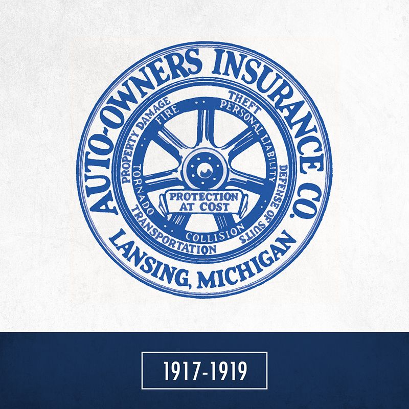 The Very First Auto Owners Insurance Logo Was Published One Year