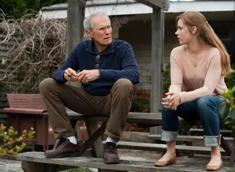 """Clint Eastwood and Amy Adams in """"Trouble With the Curve""""- 2012"""