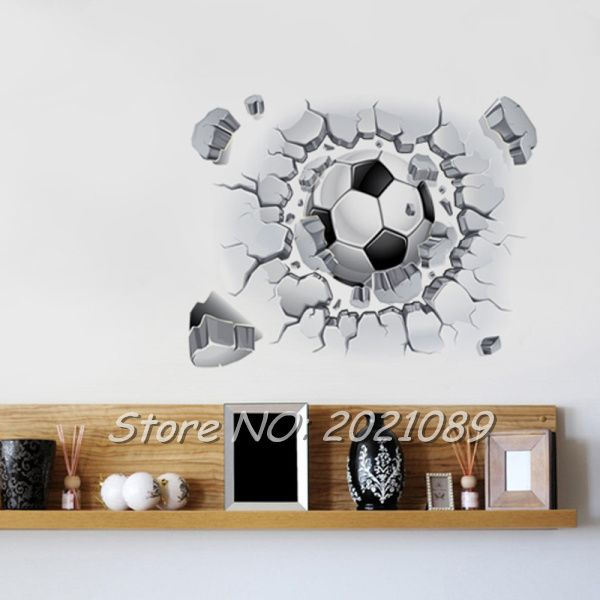 Removable Football Wall Sticker Mural Art Vinyl Decal Home Decor Kids Boys Part 92