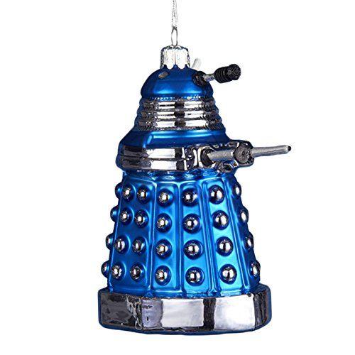 KSA Dr Who Blue Dalek Glass Ornament Kurt Adler httpwwwamazon