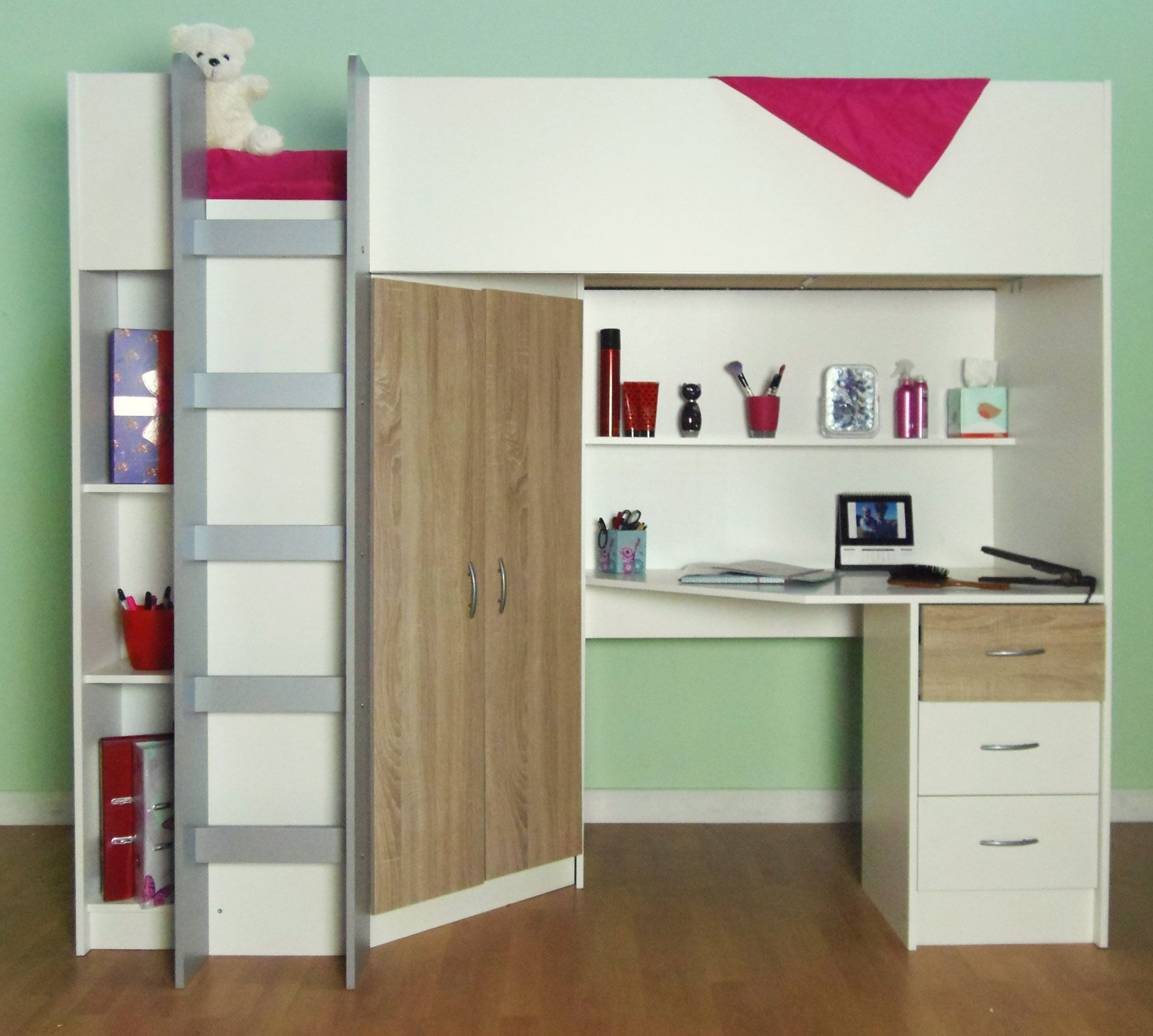 Cabin bed cambridge high sleeper m2430 ideas for my next for High sleeper bed