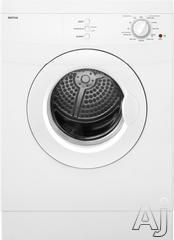 """Maytag MED7500YW 24"""" Compact Electric Dryer with 3.8 cu. ft. Capacity, 11 Dry Cycles, Damp Dry Cycle, GentleBreeze Drying System and Stainle..."""