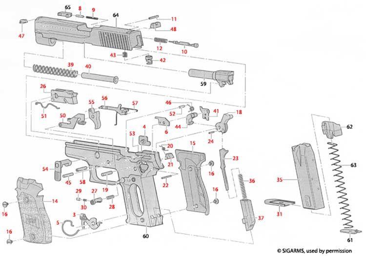 sig p229 diagram wiring diagram all data Sig P250 Parts sig sauer p226 mk25 4 4 in 9mm black polymer siglite night sights sig p229 blueprint sig p229 diagram
