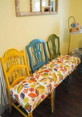Riciclo creativo mobili: idee curiose e low cost | sedie ...