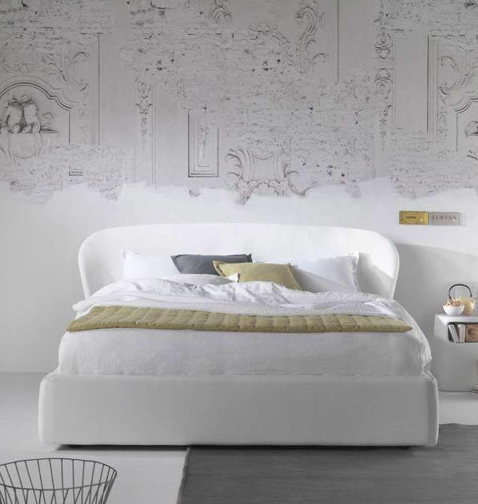 Boxspringbett Origami Baumwollbezug Designer Bett Boxspringbett Bett