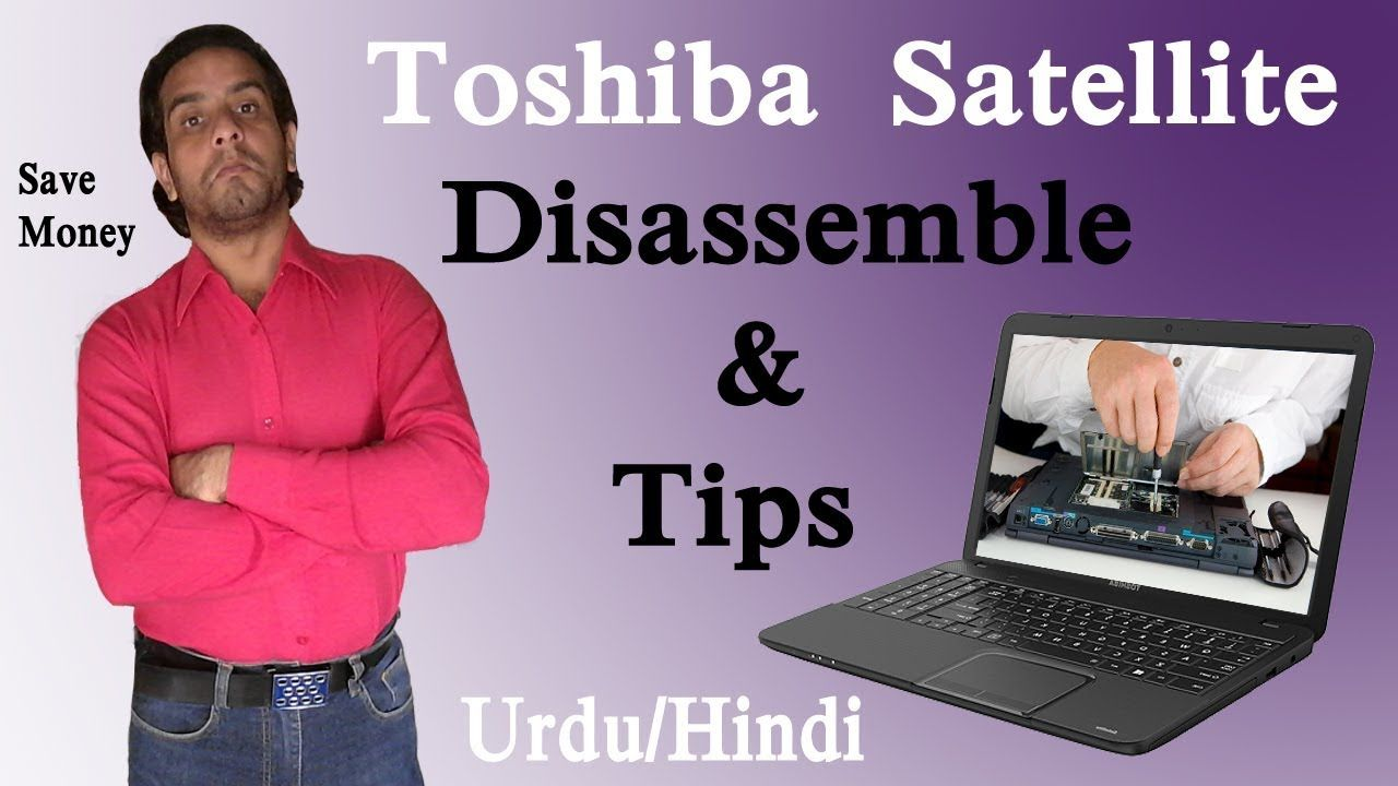 Toshiba Satellite Laptop Repair Manual Fix Disassembly Diagram Tutorial
