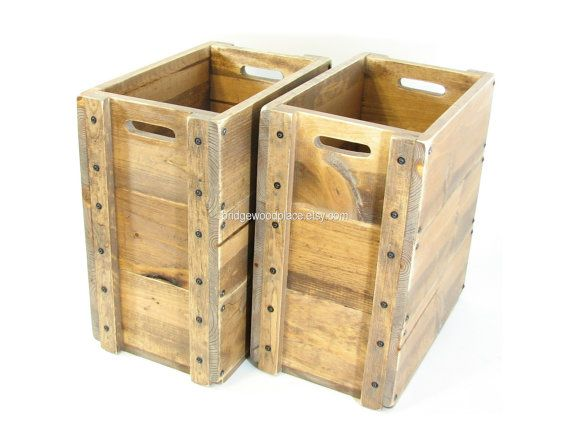 Wooden Crates Furniture Tall Wood Boxes Sofa Or By Bridgewoodplace