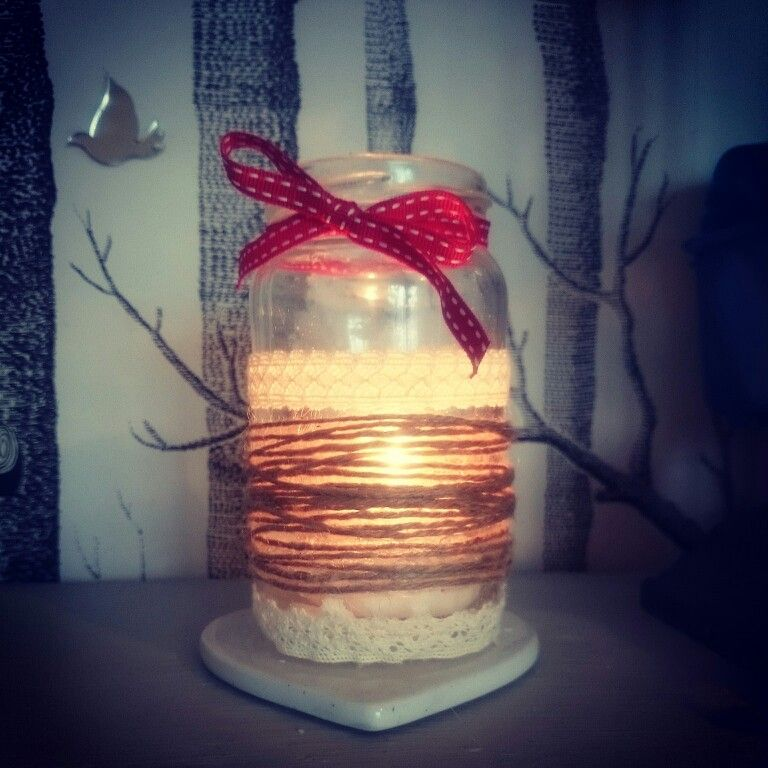 Pretty candle holder