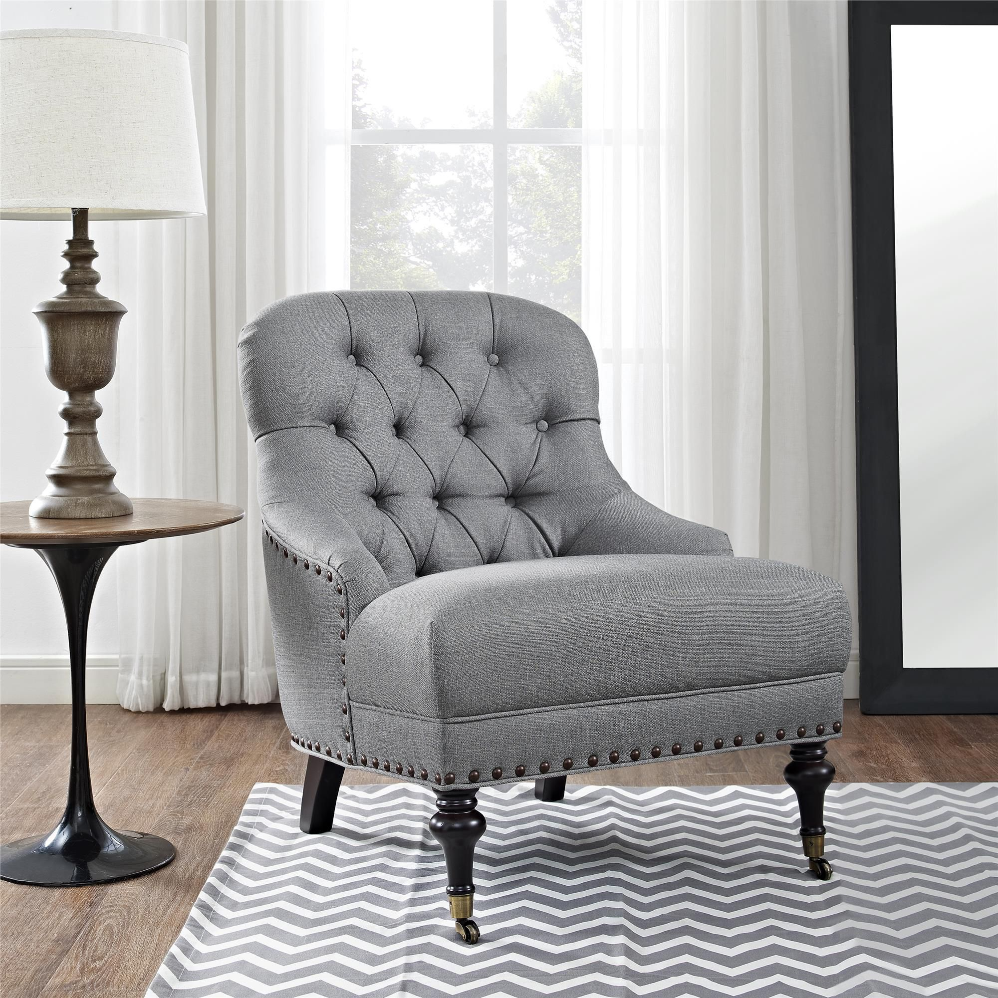 Get Quality Chairs For Living Room To Make It Comfortable Tufted
