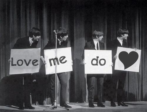 love me do (the beatles) | Muziek, Beatles, Rockbands