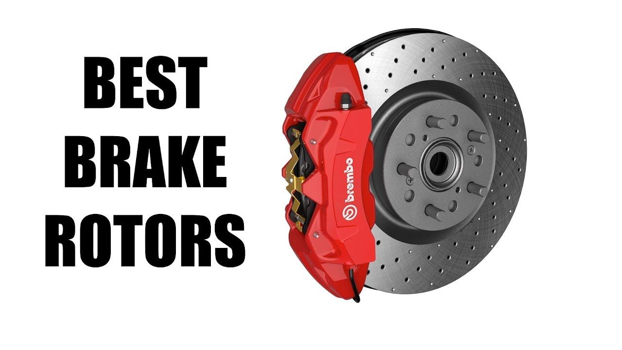 Drilled slotted and vented brake rotors whats best