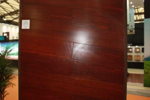 Jarrah strandwoven bamboo flooring jarrah mahogany stain ann st