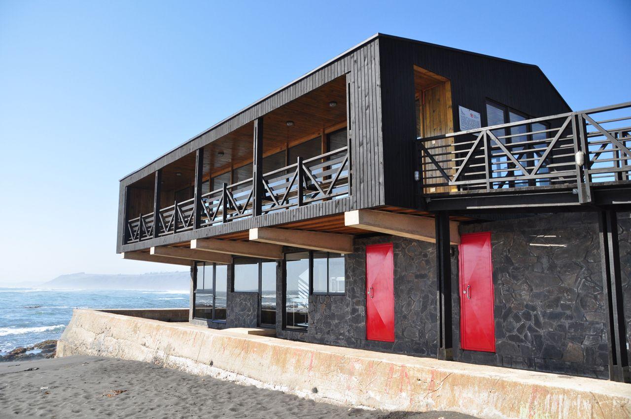 Boyeruca Fishing Cove Boyeruca, Curico, Chile FIRM. SGGB Architects #architecture