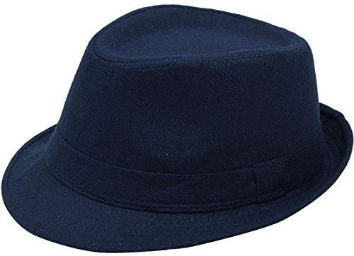 a584184981c Classy multi-colored fedora comes with teardrop crease, narrow brim, &  short crown - Perfect accessory, available in various colors, to  conveniently match ...