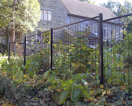 Jerith Ornamental Fences Backyard Garden Landscape Backyard