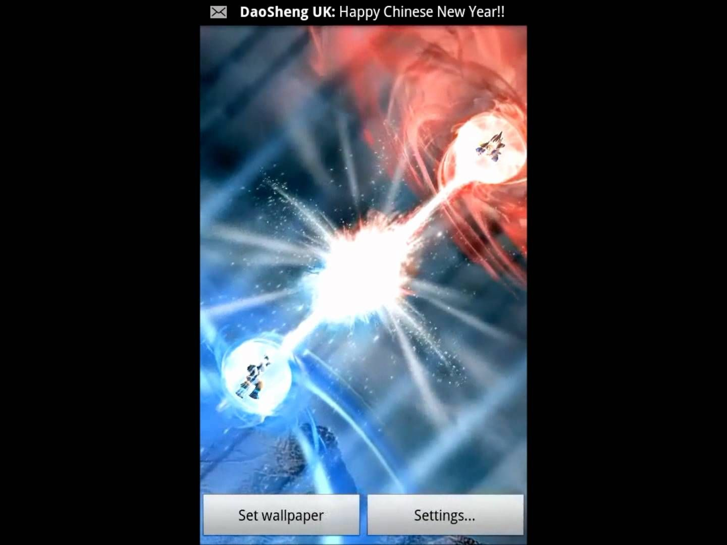 Dragon Ball Kamehameha Live Wallpaper For Android Youtube
