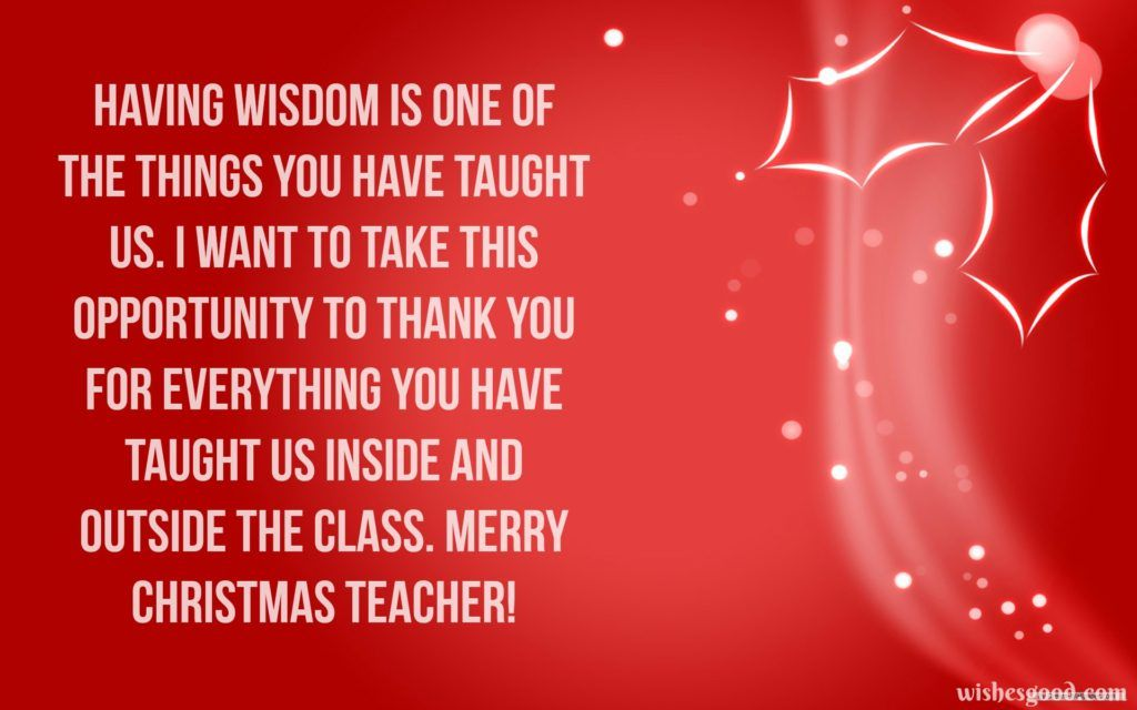 Download Christmas Wishes for Teacher Merry Christmas Wishes - christmas wishes samples