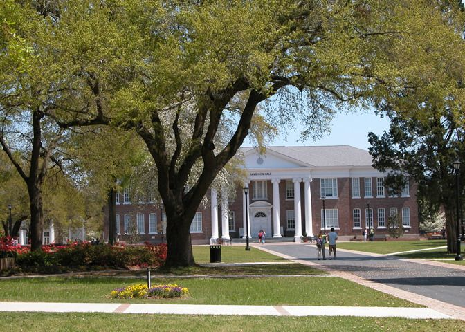 Coker College Campus Map.Hartsville Sc Coker College Is A Distinguished Private Liberal