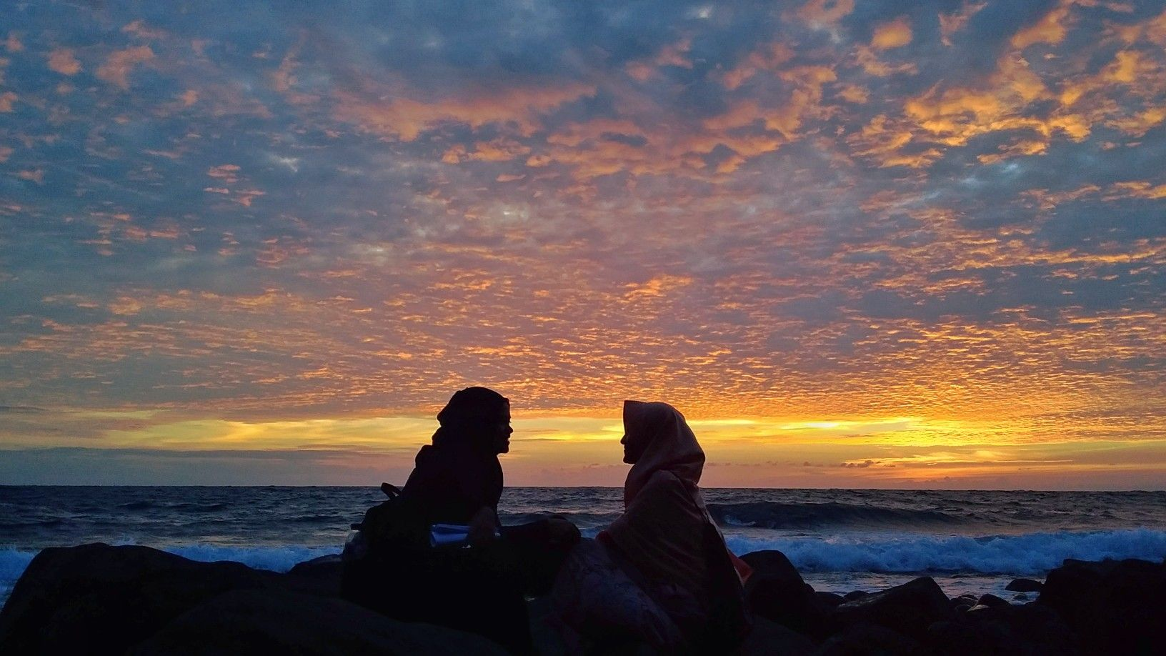 Bestfriend Sunset Sunrise Sahabat Senja Fotografi Alam