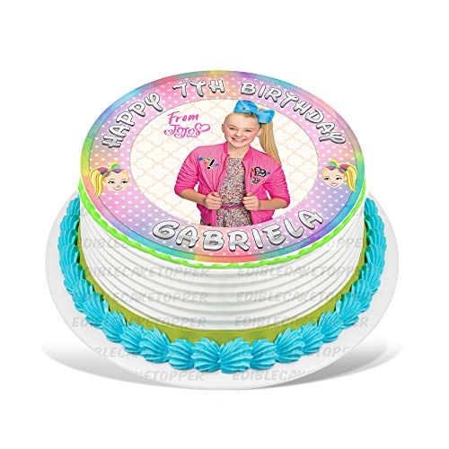 24  JO JO SIWA BIRTHDAY  ICED// ICING EDIBLE FAIRY//CUP CAKE  TOPPERS