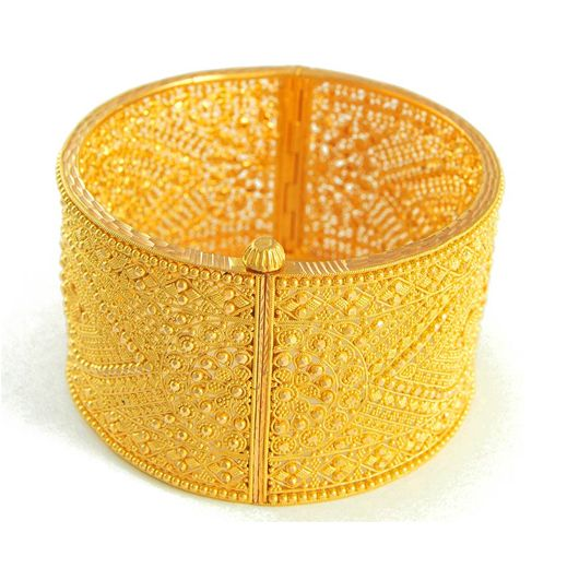 9 Awesome 30 Gram Gold Bangles Images And Designs Styles
