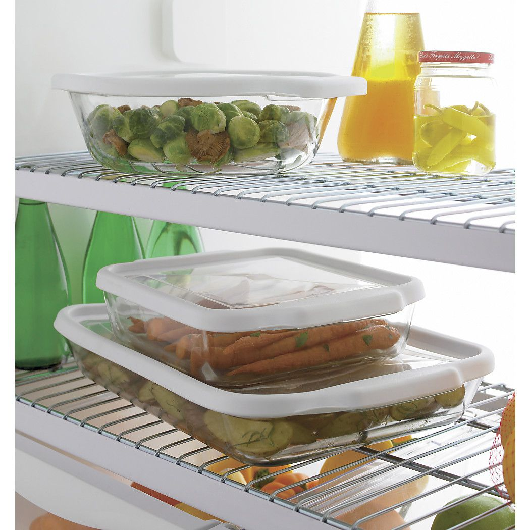 free shipping shop glass bake and store rectangular casserole dish bake it and take it with on kitchen organization dishes id=85927