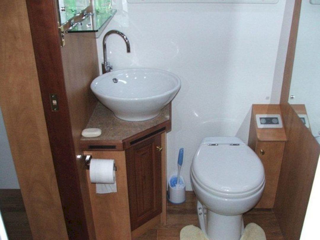 23 Incredible Small Rv Bathroom Design Ideas Freshouz Com Toilet Remodel Bathroom Collections Bathroom Design [ 810 x 1080 Pixel ]