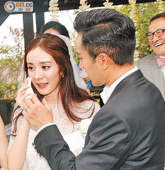 Korean Celebrity Wedding Photos: Hawick Lau And Yang Mi's Wedding In Bali In 2019