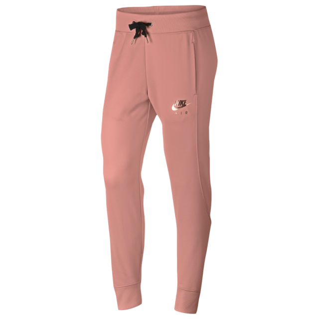 Nike Rose Gold Metallic Air Cuffed Track Pants Women's