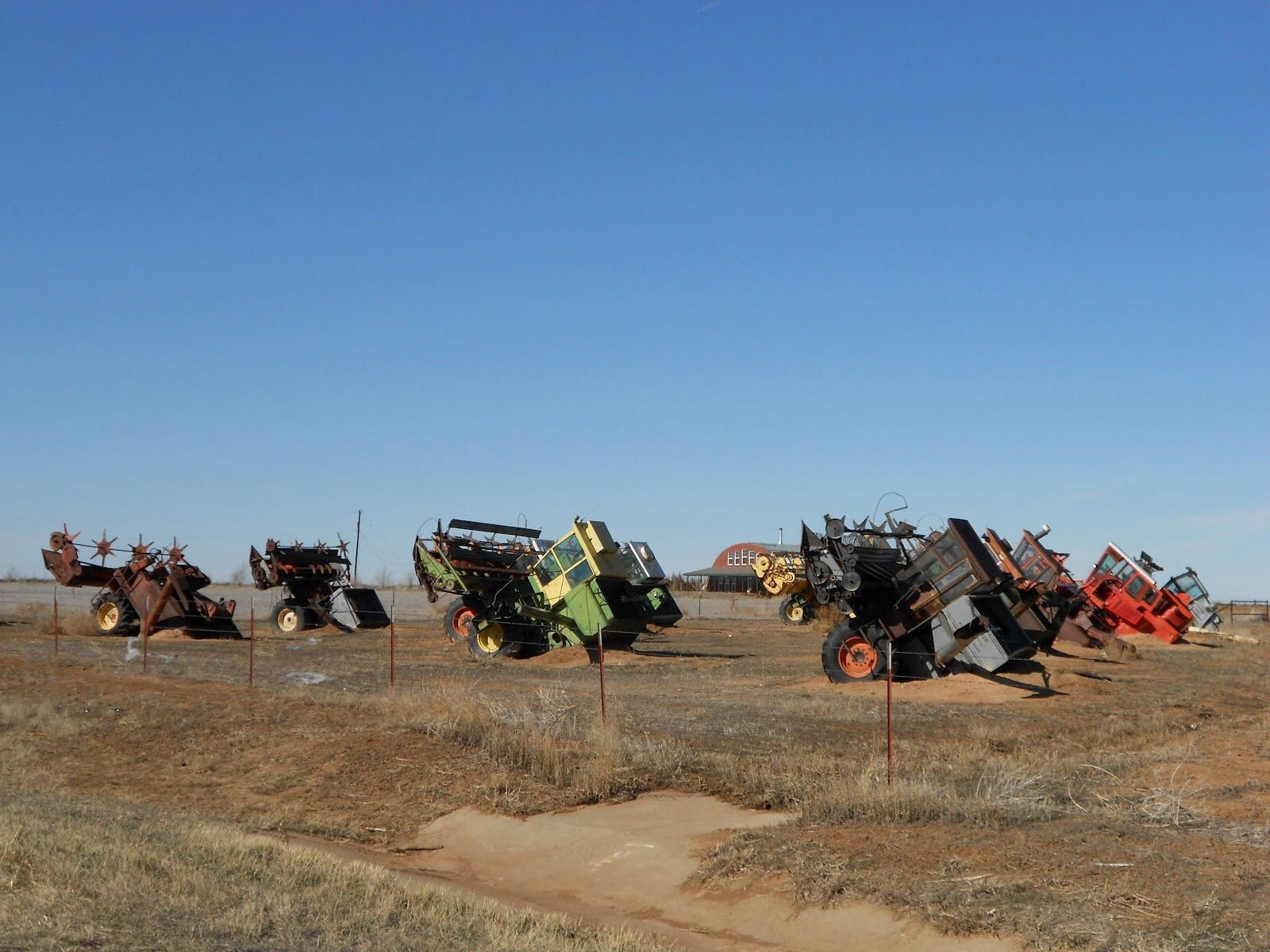 Conway texas tractor ranch is 30 miles east of amarillo