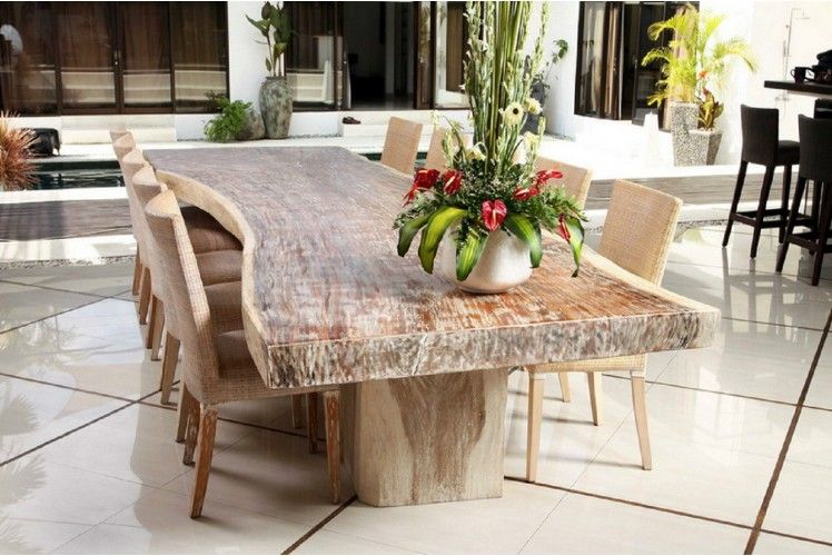 raha teak agaci masa teak table set dining table teak table table
