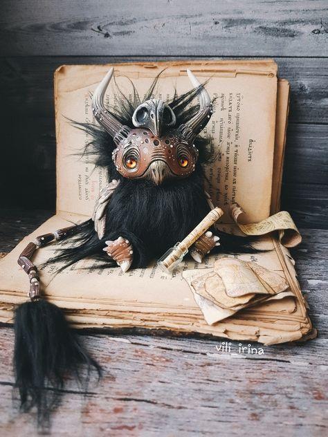 cute Dragon art ooak fantasy creature Owl doll art collectible owl figurine  owl doll fluffy cute creepy doll plush soft bird creatures toy - Hand made stuffed toys -   - #Art #bird #collectible #creature #creatures #creepy #Cute #Doll #dragón #epoxydirect #fantasy #figurine #fluffy #Hand #OOAK #Owl #Plush #soft #stuffed #toy #Toys