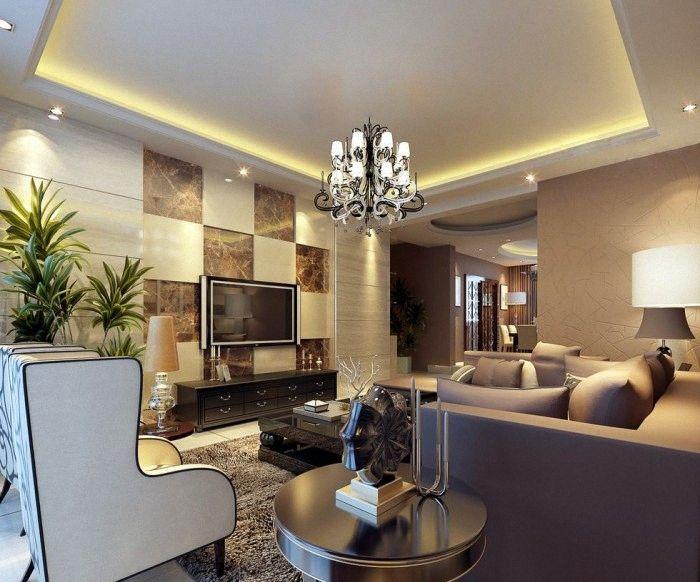 Preciosas sala de estar diseno estilo chino 16 salas de for Sala de estar iluminacion