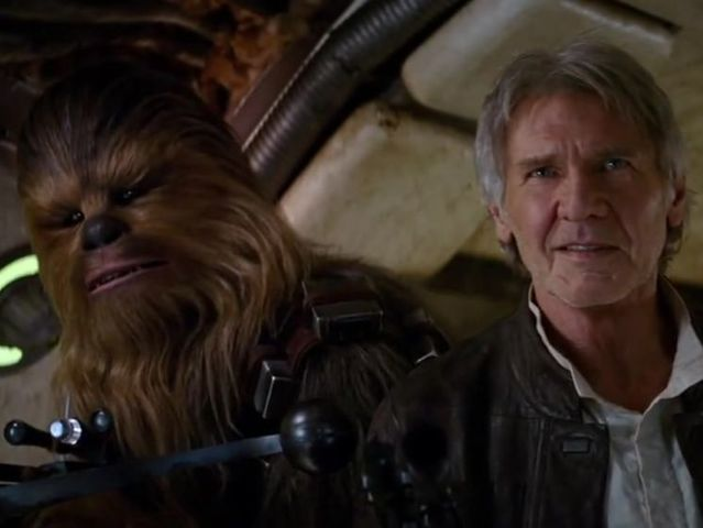 And finally, change Chewbacca's fur to a crazy color: