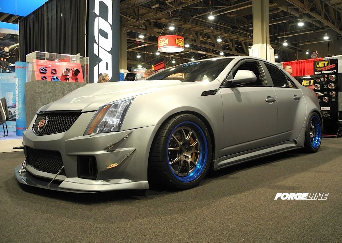 Richard s wide body cts v sedan by d3cadillac is built for serious track duty
