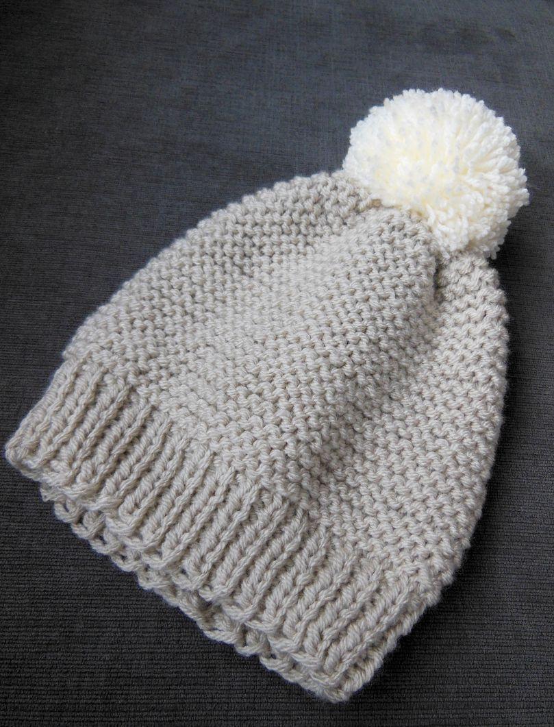 2d4b9b7d2fc Cozy Winter hat - pattern at www.peartreeknitting.com