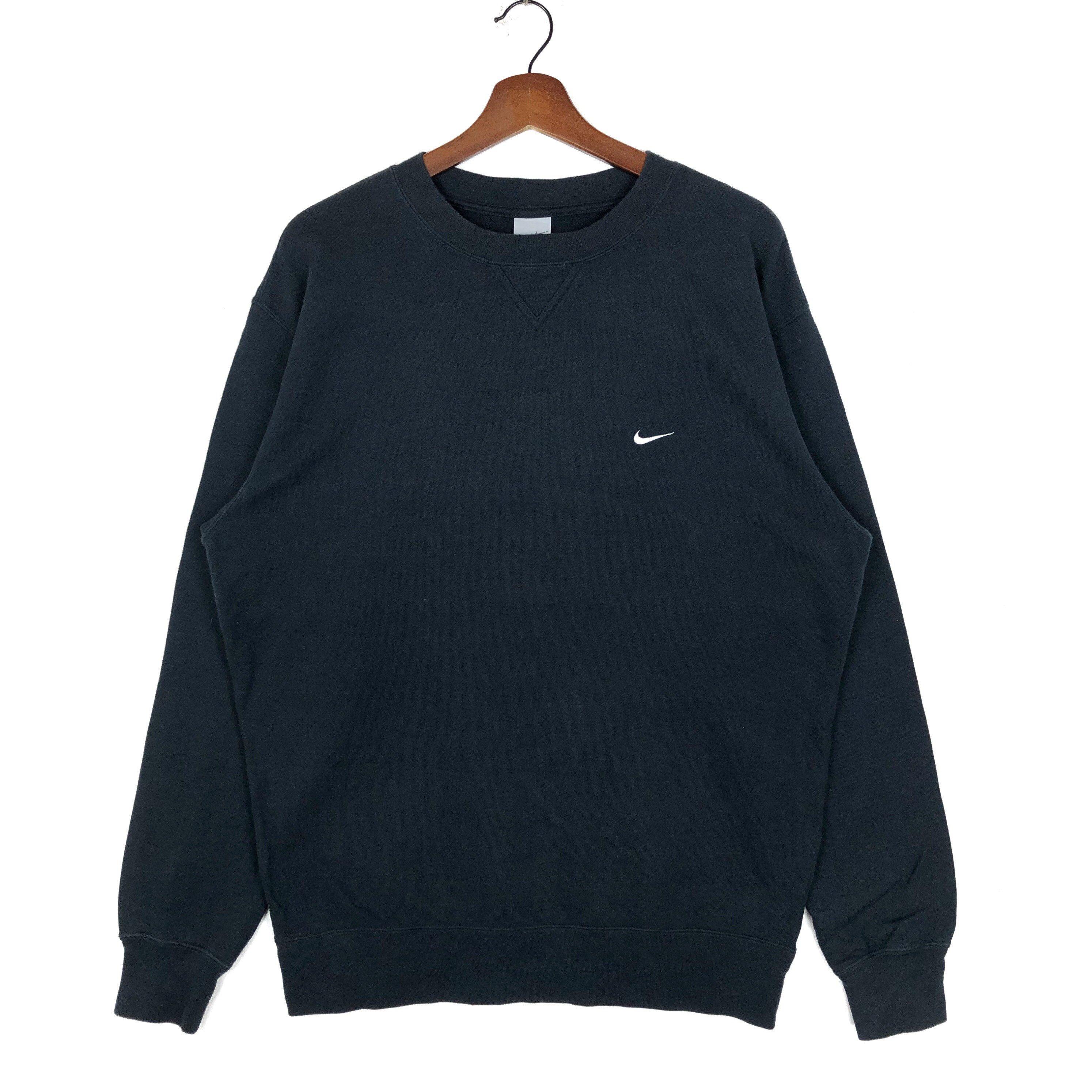 Vintage Nike Swoosh Crewneck Sweatshirt Small Logo Embroidery Etsy Vintage Nike Crew Neck Sweatshirt Nike Pullover [ 2988 x 2988 Pixel ]