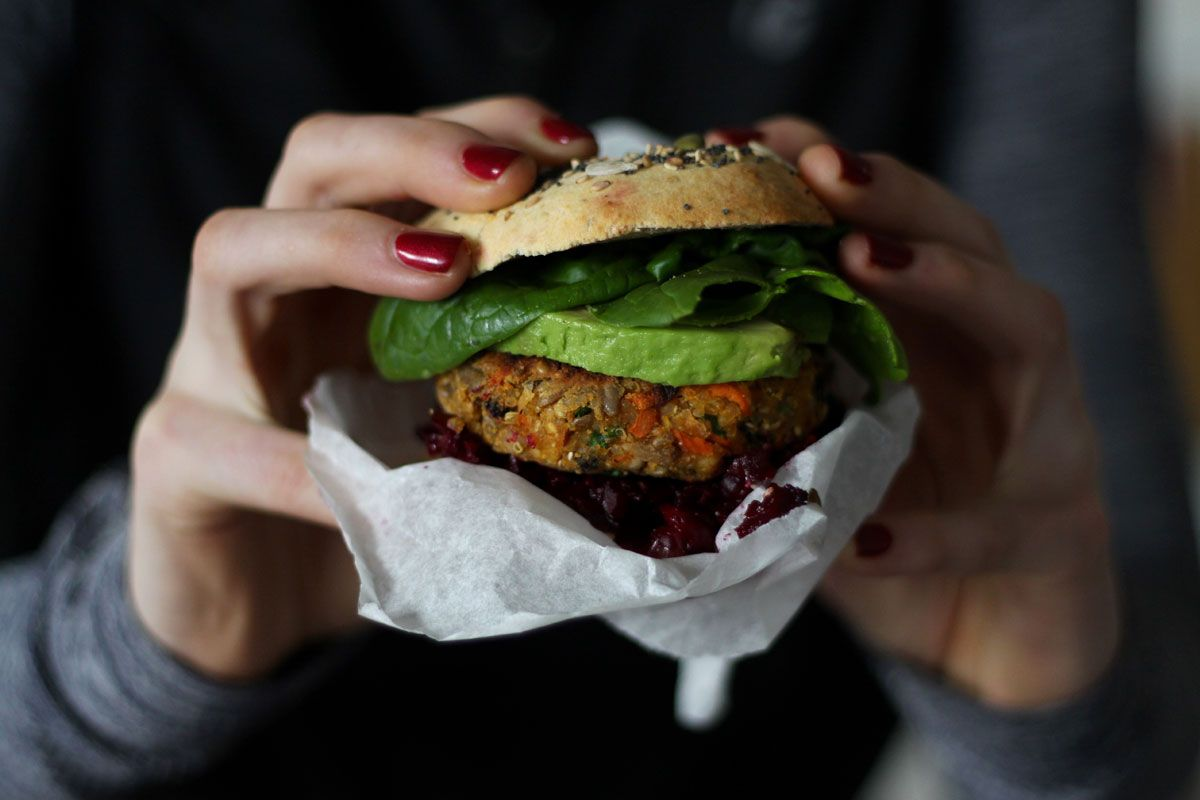 Spicy Sunflower Seed Veggie Burgers The Holistic