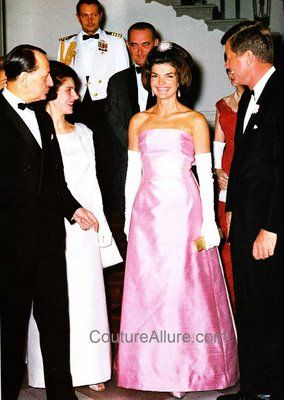 Jacqueline Kennedy Evening Gown Guy Duvier Dior New York Again With