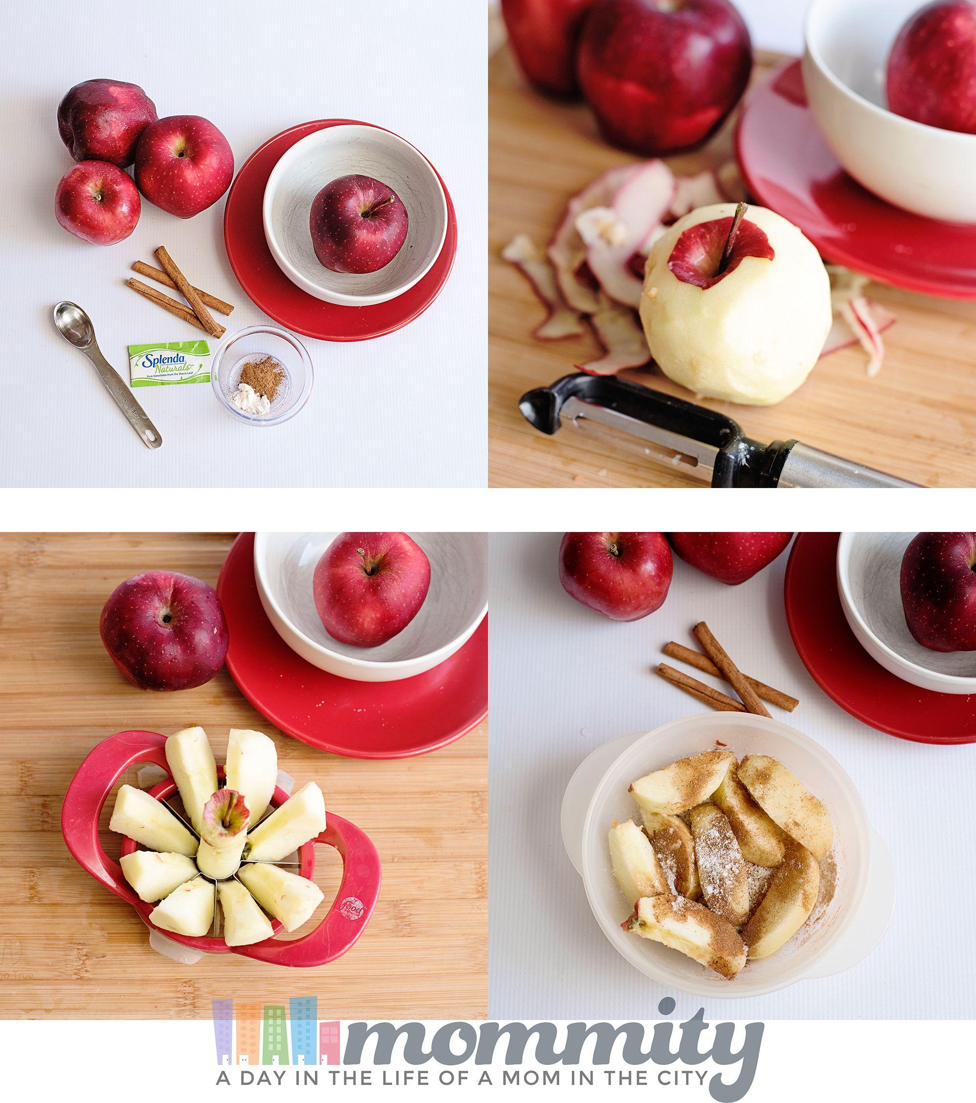 Healthy & Easy Baked Apple Microwave