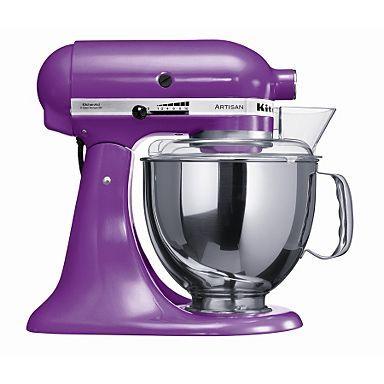 Grape Artisan food mixer - KSM150BGP - Mixers - Food & drink preparation - Electricals -
