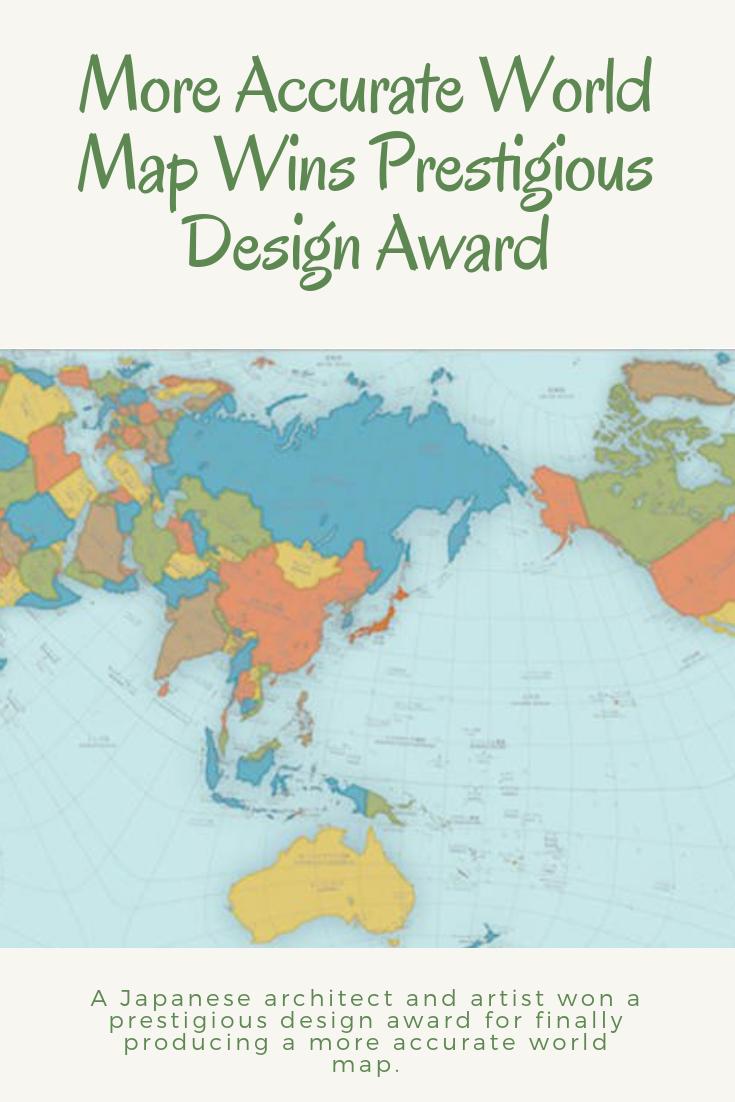 More Accurate World Map Wins Prestigious Design Award   Wow-Cool-OMG ...