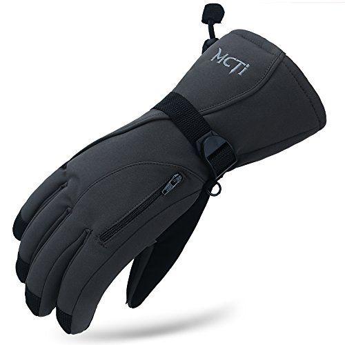Women Ski Gloves Waterproof Windproof Winter Warm Thinsulate Thermal Gloves