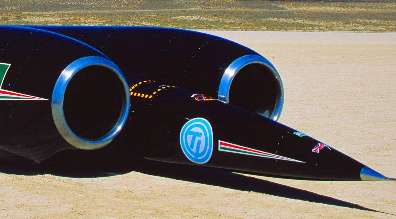 Supersonic Car Powerhouse Engines Shatter Land Speed World Record World Records Speed Jet Engine