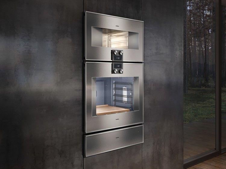 Gaggenau Bets On The Combi Steam Oven Architectural Digest In 2020 Gaggenau Steam Oven Kitchen Appliance Storage