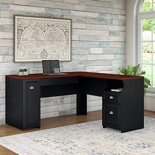 Custom Homeoffice Desk: L Shaped Corner Desk For Home Office Workstation Computer