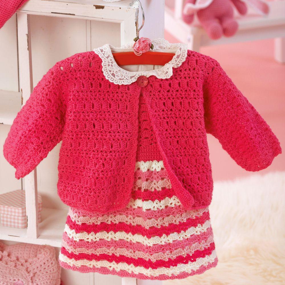 Crochet jacket for girl