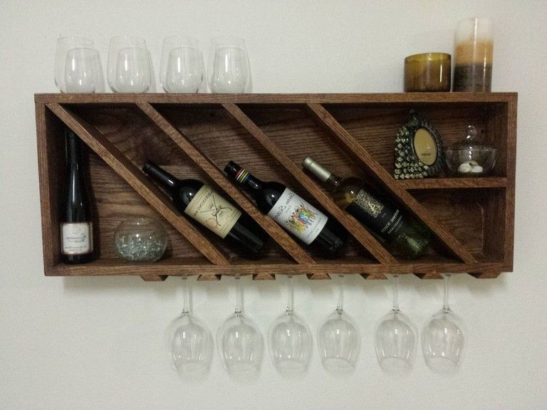 28 Smart Simple Wall Woode Wine Rack Design You Can Make Diy
